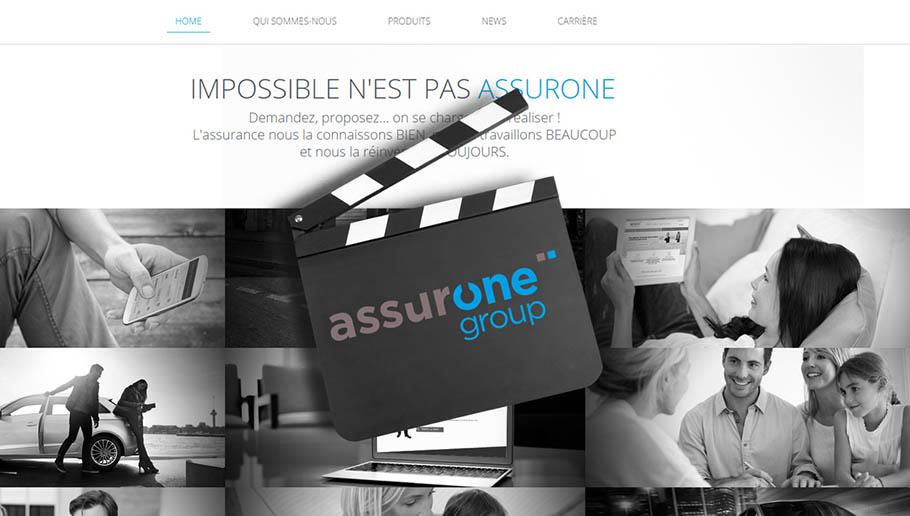 Un nouveau site corporate pour AssurOne